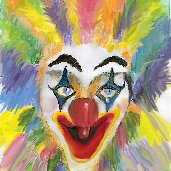 Clipart Clown Faces