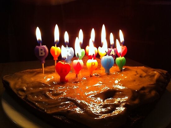 happy birthday cake candles. happy birthday cake with