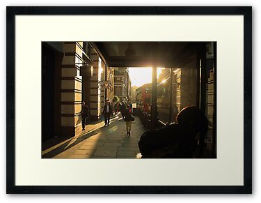 Framed Print: Home-Time