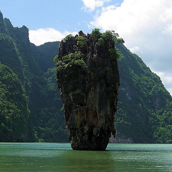 "James Bond Island (Man with the Golden Gun !)"" Fine Art Print by ..."
