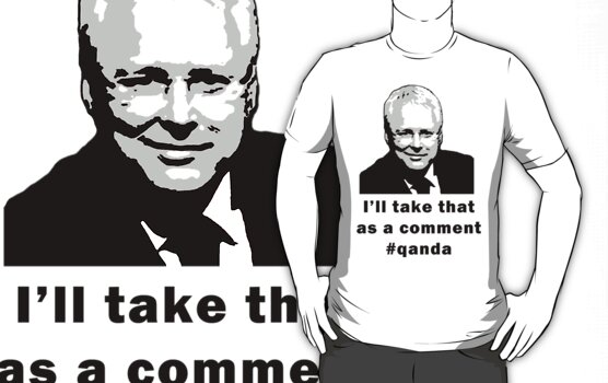 I will take that as comment t-shirt