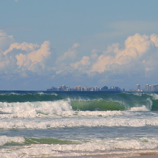 gold coast beach wallpaper. australia gold coast beaches.