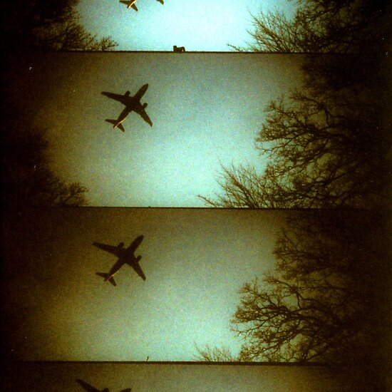Toy Camera: Plane Lomo - Denmark by Barnewitz