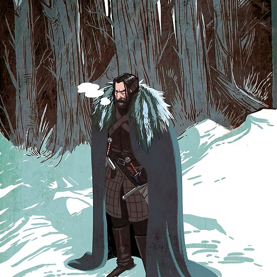 Comic Art: Eddard Stark. Lord of Winterfell, Paramount and Warden of the North by Douglas Holgate