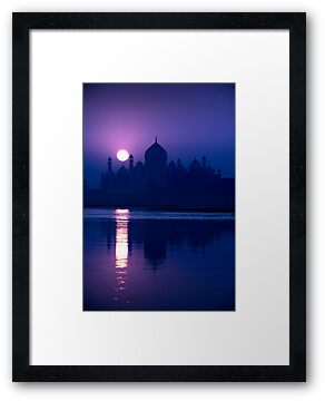 Taj Mahal Blue Dawn
