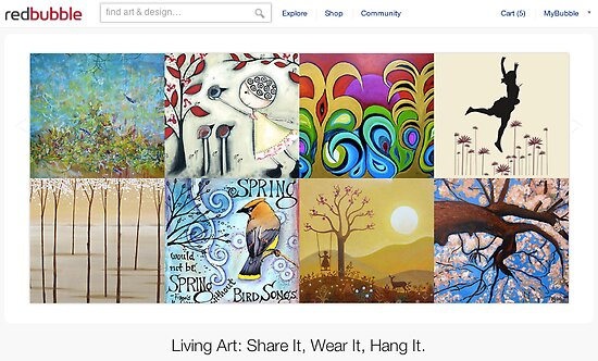 Spring - 1 September 2011 by home page