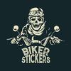 Bikerstickers