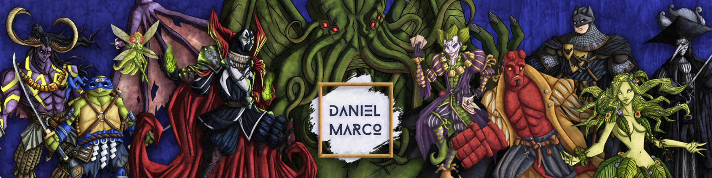 Imagen de portada de la tienda del artista