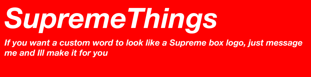 Supremethings top selling t shirts posters greeting cards stickers wall art and more redbubble