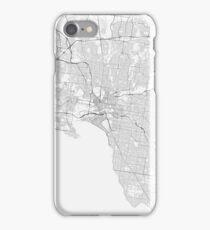 Melburn Map  iPhone Case/Skin