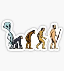 Alien Theory Sticker
