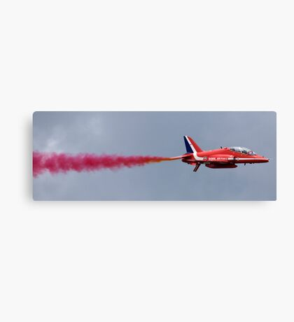 The Red Arrows at Farnborough International Airshow, July 2008 Canvas Print