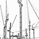 Cranes by Sculptress
