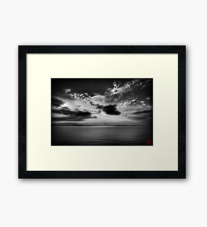 Sunset Sigh Framed Print
