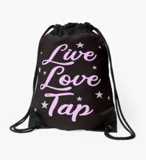 Tap Dancer Live Love Tap Dancing Ballet Tap Shoes Drawstring Bag