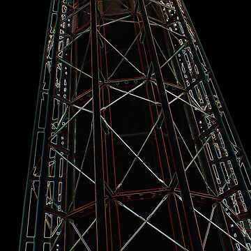 Night tower by Sculptress