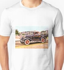Zipping Through Town Unisex T-Shirt