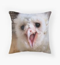 Ugly duck Throw Pillow