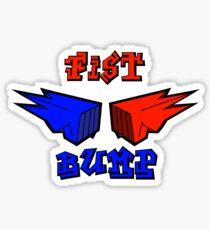 Fist bump #2 Sticker