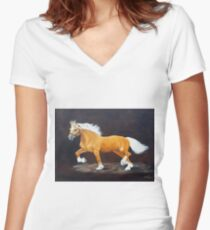 Palomino Women's Fitted V-Neck T-Shirt