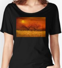 Autumn Impression Women's Relaxed Fit T-Shirt