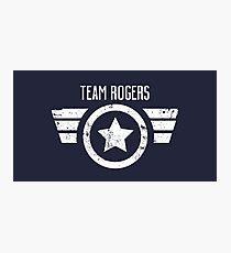 Team Rogers - Civil War Photographic Print
