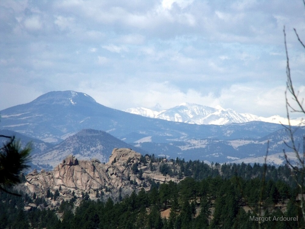 View from the road to Cripple Creek by Margot Ardourel