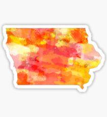 Iowa Watercolors 3 Sticker