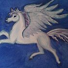Pegasus in flight by turquoise