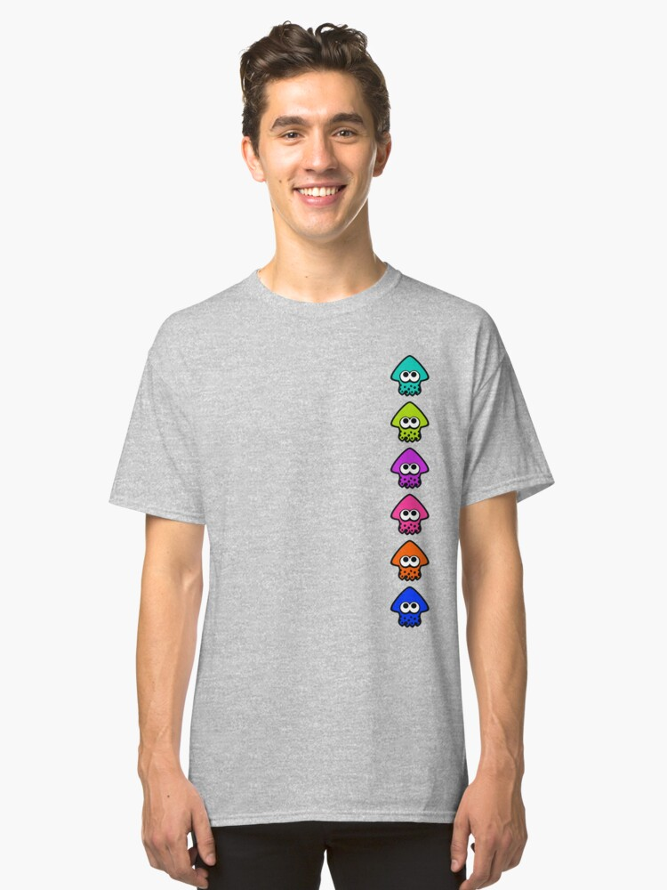 T-shirt classique ''Splatoon Color Force': autre vue