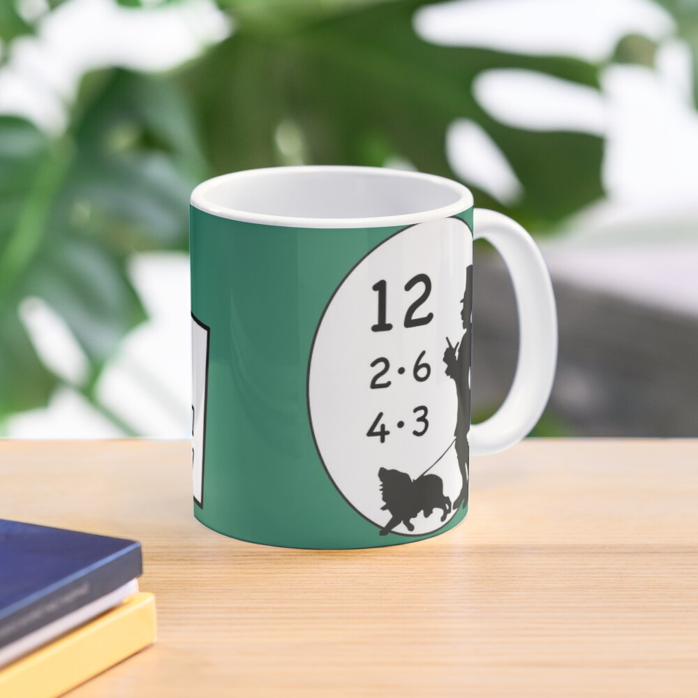 1x1 number, today the 12 - cocoa with brains Mug