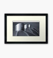 igloo Abstract Framed Print