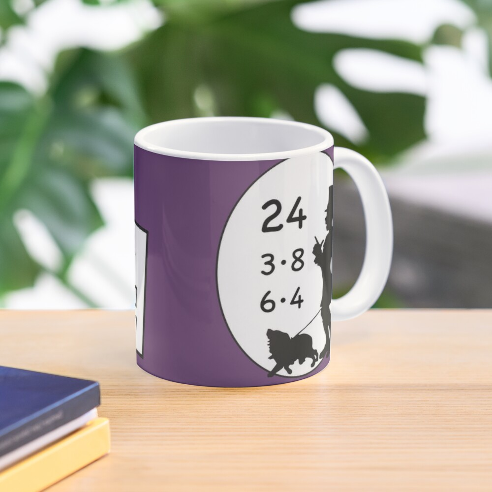 Difficult 1x1 tasks by the way, today the 24 - cocoa with brains - learning with fun Mug