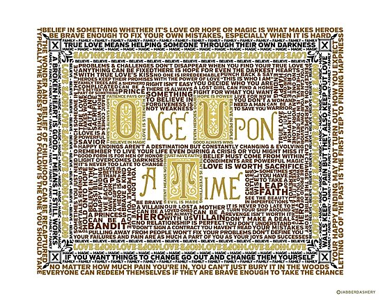 Wisdom of Once Upon A Time by jabberdashery