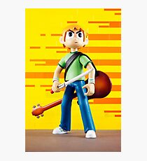 Scott Pilgrim vs the world  Photographic Print
