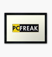 Pc Freak Framed Print