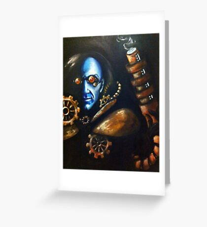 Dr. Fries/ Mr. Freeze Greeting Card