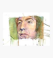 Alan Rickman - Fan Art Photographic Print