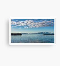 Ardrossan Harbour Canvas Print