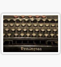 Old Typewriter Sticker