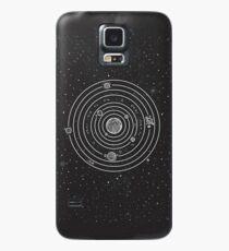 Sonnensystem Hülle & Klebefolie für Samsung Galaxy