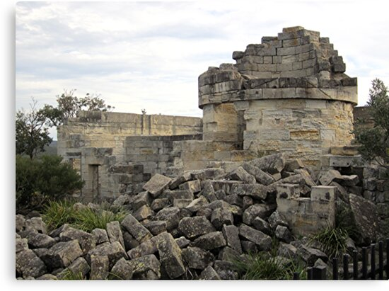Ruins - Cape St. George Lighthouse, NSW by Lunaria