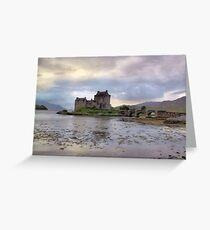 Eilean Donan Castle, Loch Duich Greeting Card