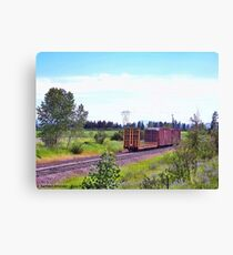 Spur Tracks Canvas Print