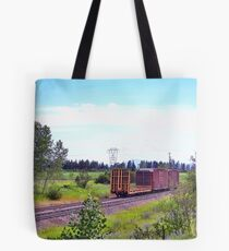 Spur Tracks Tote Bag