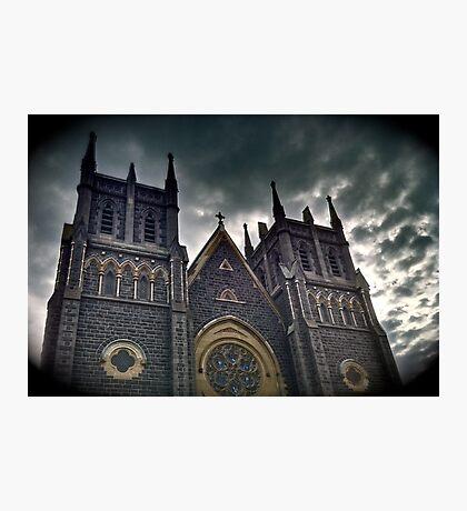 St Mary's Parish of Geelong Photographic Print