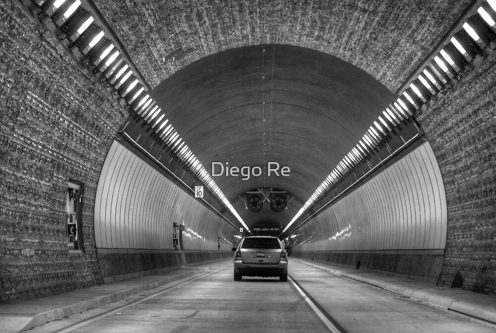 Devil's Slide Tunnel by Diego Re