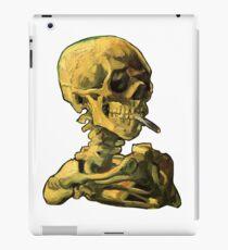 """Vincent Van Gogh - """"Skull of a Skeleton with Burning Cigarette"""" iPad Case/Skin"""