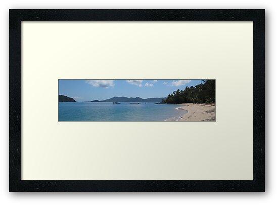 Bedarra Island facing Dunk Island resort by Scott Schrapel