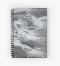 Flooding Waterfall Spiral Notebook
